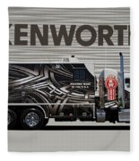 Kenworth Proudly Made In The Usa Fleece Blanket