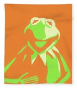 Kermit The Frog Fleece Blanket