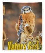 Kestrel Nature Wear Fleece Blanket
