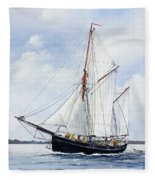 Ketch Rig Solvig Fleece Blanket