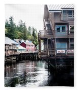 Ketchikan Alaska Fleece Blanket