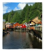 Ketchikan Creek Fleece Blanket