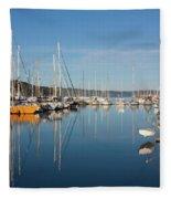 Kettering Harbour Fleece Blanket