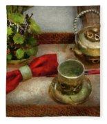 Kettle - Formal Tea Ceremony Fleece Blanket
