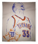 Kevin Durant Fleece Blanket