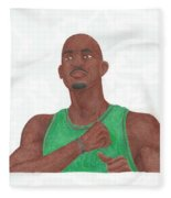 Kevin Garnett Fleece Blanket