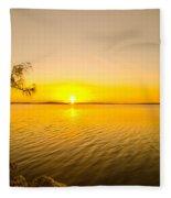 Key Largo Sunrise 2 Fleece Blanket