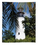 Key West Lighthouse Fleece Blanket