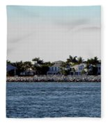 Key West Panorama Fleece Blanket