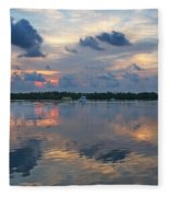 Key West Sunrise 11 Fleece Blanket