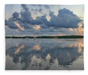 Key West Sunrise 7 Fleece Blanket