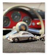 Keys To The Porsche Fleece Blanket