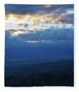 Keys View Sunset Landscape Fleece Blanket