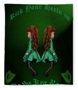 Kick Your Heals Up At The Keg Room Fleece Blanket