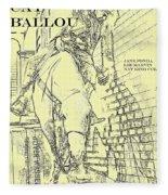 Kid Shelleen, Cat Ballou, Academy Award Winner  Lee Marvin Fleece Blanket