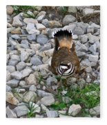 Kildeer And Eggs Fleece Blanket