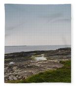 Kilkee Coastline Fleece Blanket