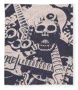 Kill The Music Industry Fleece Blanket