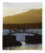 Killarney Golf Club, Lough Leane, Co Fleece Blanket