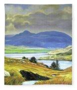 Killary Harbour County Mayo Fleece Blanket
