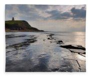 Kimmeridge Bay - England Fleece Blanket