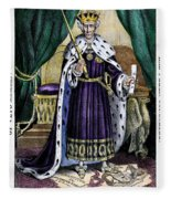 King Andrew The First Fleece Blanket