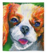 King Charles Fleece Blanket