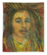 King Gong As A Young Man Fleece Blanket
