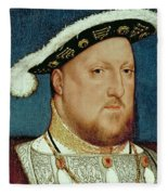 King Henry Viii Fleece Blanket