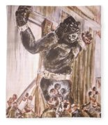 King Kong - Flashbulbs Anger Kong Fleece Blanket