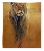 King Leo Fleece Blanket
