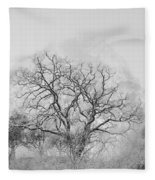 King Mountain Monochrome Fleece Blanket