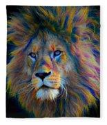 King Of The Jungle Fleece Blanket