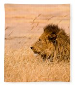 King Of The Pride Fleece Blanket