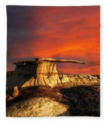 Where Heaven Meets Earth 2 Fleece Blanket