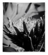 King Protea Exotic Tropical Flowers Fleece Blanket