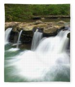 King River Falls Fleece Blanket