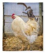 King Rooseter Fleece Blanket