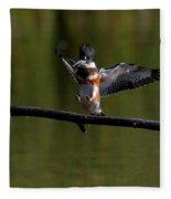 Kingfisher Landing Fleece Blanket