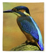 Kingfisher Perch Fleece Blanket