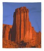 612706-kingfisher Tower  Fleece Blanket