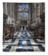 Kings Altar Fleece Blanket