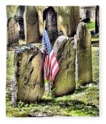 King's Chapel Cemetery  Fleece Blanket