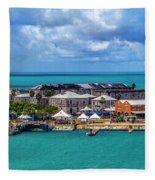 Kings Wharf, Bermuda Fleece Blanket