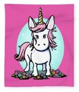 Kiniart Unicorn Sparkle Fleece Blanket