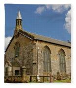Kirk Of Shotts. North Lanarkshire. Fleece Blanket