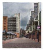 Kirkgate Market Fleece Blanket