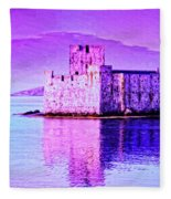 Kisimul Castle Fleece Blanket