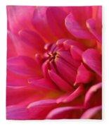Kiss Of Pink Fleece Blanket