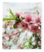 Kiss Of Spring Fleece Blanket